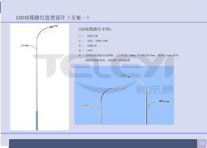 定兴县南环路路灯建设项目