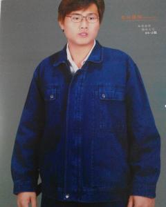 东兴牛仔防护服 工作服 工装 衣服04-2款