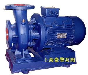 豪擎厂家直销 清水泵循环水泵ISG立式、ISW卧式管道离心泵