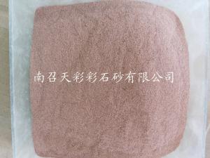安徽雞血紅彩石粉廠家直銷