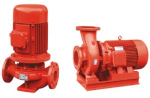 豪擎XBD-ISG\ISW立式单级消防泵