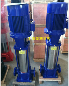 豪擎GDL多级管道离心泵