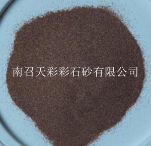 宣城崗石原料選用豫紅彩石沙,豫紅彩石沙生產廠家
