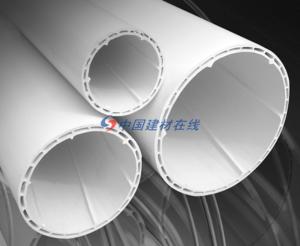 PVC-U中空螺紋消音管
