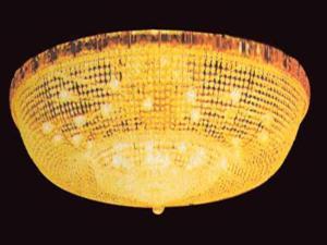 双林厂家批发圆形水晶灯 客厅吸顶圆形水晶灯 别墅水晶灯定制