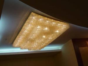 雙林廠家批發定制 別墅吸頂燈 水晶燈