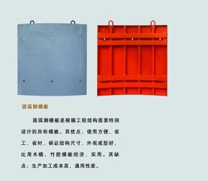 天元偉業  廠家定制圓弧鋼模板