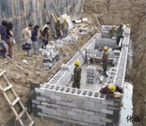 石胜混凝土模块600*300*200 轻质、节能、保温、防火、隔热 武汉石胜建材有限公司
