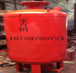 上海江洋泵業 供應 成都消防穩壓罐廠家 壓力罐 SQL12000.6 SQL12001.0 SQL12001.6