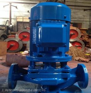 上海江洋泵业 供应 ISG单级单吸立式管道离心泵,稳压泵,增压泵