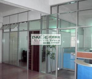 上海代格辦公隔斷系統