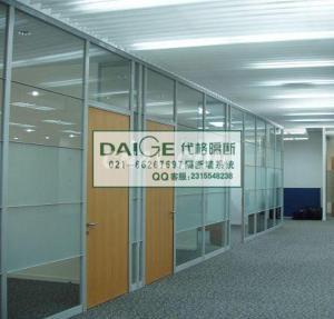 上海代格酒店移动隔断 上海办公隔断 苏州玻璃隔断