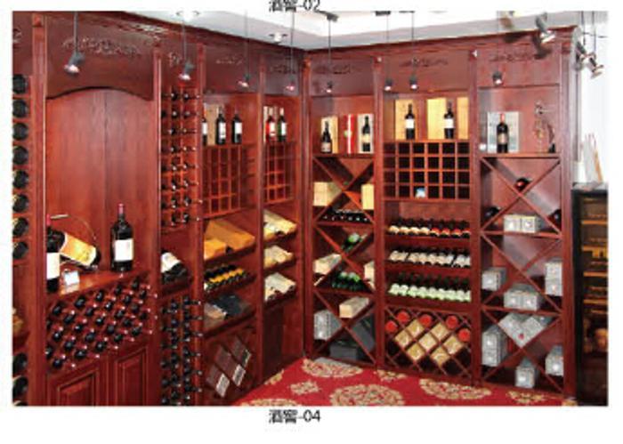 木宜居專業酒窖公司 別墅酒窖設計 恒溫酒窖 原木酒窖定制