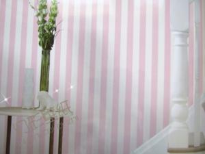 幻彩壁纸现代风 清新简约条纹壁纸 客厅装修 儿童卧室装修墙纸 纯纸墙纸