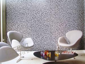 无纺布墙纸 3D壁纸 卧室客厅背景铺墙壁纸幻彩黑格尔