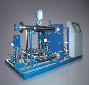 德威廠家直供板式換熱器,換熱熱機組,定制不銹鋼換熱器