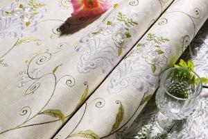 艾美世家现货供应高档无缝墙布 ,客厅,卧室 背景多种花型