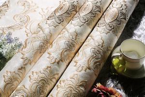 艾美世家欧式无缝墙布批发 墙布 客厅卧室环保隔音简约壁墙布 防潮壁纸布