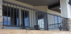 阳台栏杆/花园栏杆/玻璃护栏/板式栏杆/铝艺护栏