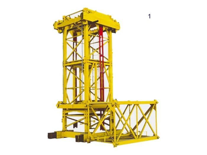 塔式起重机机构构成百脉顶升套架内爬机构