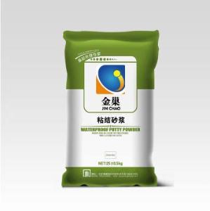 金巢粘結砂漿     保水性好,粘貼強度高,優良的耐候、抗沖擊和防裂性能     北京金巢佳業建筑材料有限公司