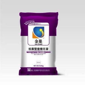 抗裂型嵌縫石膏    綠色環保、粘接強度低、收縮小、合易性好、施工性能優異    北京金巢佳業建筑材料有限公司