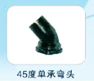 45度单承弯头 石油弯头 铸铁管