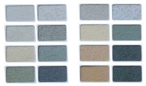 真石漆 抗玷污、抗老化、抗凍融、防酸堿、涂抹完全防水 盤錦金峰涂料裝飾有限公司