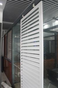 鋁合金空調百葉·外遮陽百葉·遮丑百葉·空調罩