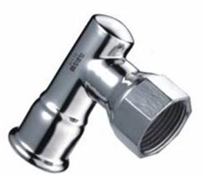 溫默爾 內螺紋90°轉換短接頭 管材 接頭