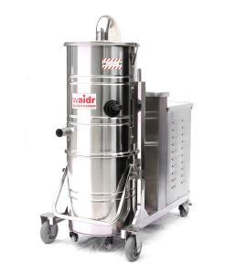 上海厂家直销 100L大容量不锈钢集尘桶效率高吸尘器   威德尔100/40 工业吸尘器