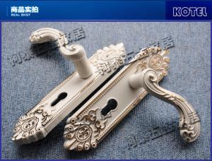 柯泰 象牙白歐式房門鎖  裝飾材料