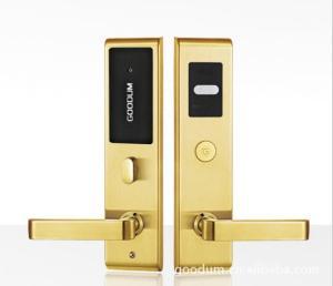 高盾优质304不锈钢酒店智能感应门锁