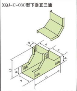 生产优质下垂直三通 孙氏电缆桥架厂