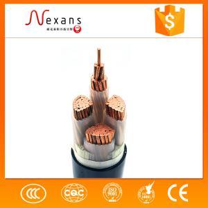 阻燃聚乙烯绝缘电力电缆ZR-YJV22 3*4