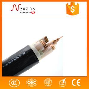 阻燃聚乙烯绝缘电力电缆ZR-YJV22 3*6