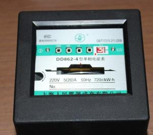 DD862-4单相电表