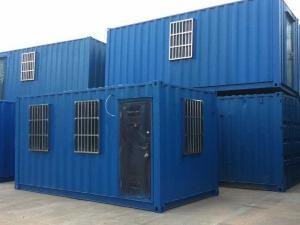 盛钢架彩板  环保集装箱