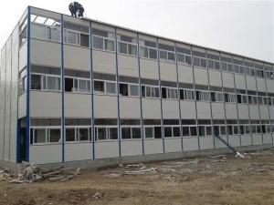 吴江中盛钢架彩板  活动板房