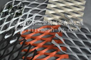 铝板网、铝板拉伸网、幕墙装饰铝板网