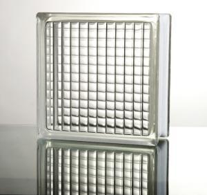 空心玻璃砖,晶华原厂专供,绿色环保家居,平行纹玻璃砖