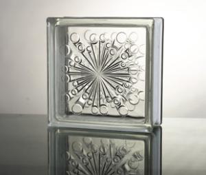 流星纹空心玻璃砖,晶华牌厂家直销,量大从优