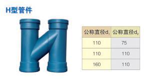 H型管件  乾通塑胶