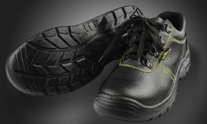 代尔塔安全鞋钢包头防砸防穿刺静电透气牛皮劳保鞋工作鞋耐磨防滑