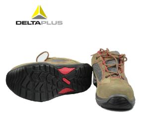 代尔塔安全鞋透气款防砸电工10KV绝缘鞋毛面真牛皮耐磨油防滑