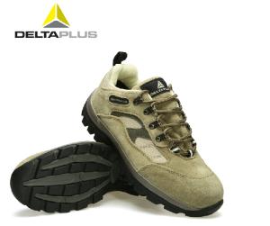 代尔塔橡胶牛皮安全鞋防砸防刺穿耐磨劳保鞋耐磨高温透气