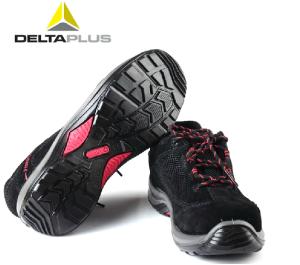 代爾塔牛皮工作鞋勞保鞋防砸防靜電防滑安全鞋高端防油ESD