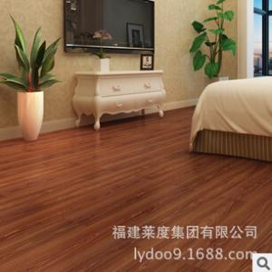 厂家u乐国际娱乐商仿实木地板纹PVC地板 家用耐磨石塑地板 可来样定制