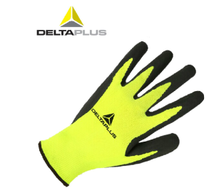 代尔塔工作 手套 劳保耐磨乳胶涂层浸胶浸塑耐磨棉纱针织工业手套