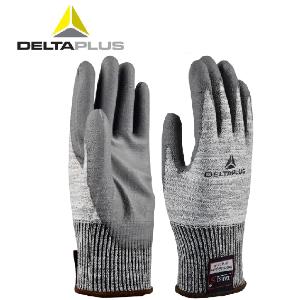 代爾塔手套工作手套勞保PU涂層掌浸丁腈手套防切割耐磨手套抗撕裂